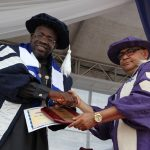 Dickson Bags Honorary Doctorate Degree From CRUTECH