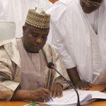 Tambuwal Signs Sokoto's N220.5b 2018 Budget