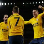 Europa: Griezmann Late Equaliser Gives Atletico Advantage Over Arsenal