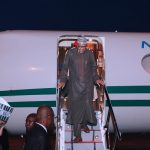 Buhari Returns to Abuja From London Medical Trip