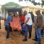 At Last, Melaye Arrives Lokoja Court in Police Ambulance