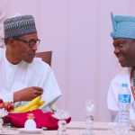 PHOTOS: Buhari Breaks Ramadan Fast With Traditional And Religious Leaders/June 5, 2018