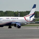 Air Peace Flight Departs UK With 315 Nigerian Evacuees
