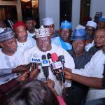 After Defection, Senator Tejuoso Returns to APC, Attends Meeting With Buhari