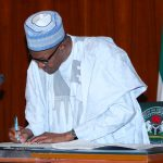 Buhari Signs Executive Order to Freeze Graft Suspects Assets