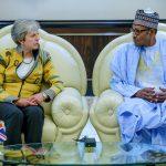 Photos: UK PM, Theresa May Visits Nigeria, August 29, 2018