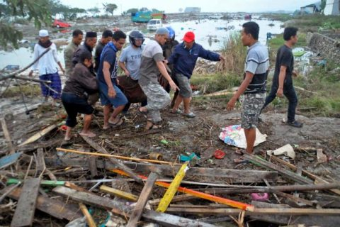 Image result for Indonesia's Tsunami Death Toll Rises to 1,347