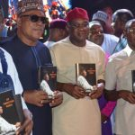 Politicians, Former Presidents, Others Storm Jonathan's Book Launch
