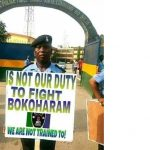 Police Say Its Officers Didn't Protest Deployment to Fight Boko Haram