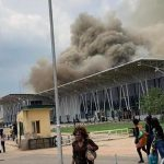 Strange Fire Guts Imo Airport, Destroys VIP Lounge