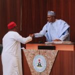 Buhari Inaugurates Revenue Mobilization Board As Chairman Vows to Boost Revenue Sharing
