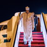 Buhari Returns to Abuja After Private Visit to London