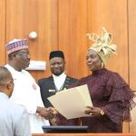 Senate Swears-in Olujimi as Lawan Calls For Unity Among Senators