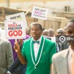 Pastor Adeboye Protests; Leads Prayer Walk In Lagos Against Killings, Insecurity