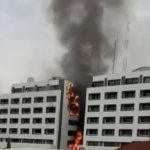 BREAKING: Fire guts Accountant-General's Office in Abuja