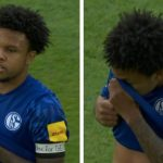 """Schalke's U.S.-Born Player Wears """"Justice for George'' Armband"""