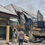 Wike Demolishes 2 Hotels in Rivers Over Lockdown Violations