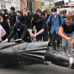 George Floyd: Protesters in UK Pull Down Slave Trader Edward Colston's Statue