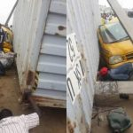 Container Falls on Bus in Lagos; Kills 2, Injures 3