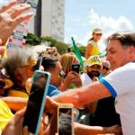 After Recovery, Brazilian Bolsonaro Ignores COVID-19 Warning, Shakes Hands With Crowd