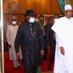 Ex-President Jonathan Meets With Buhari Behind Closed Door