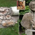 Statue Of Former Ethiopian Leader Smashed In London Park