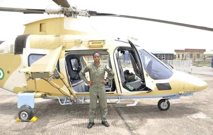 Nigerian Airforce Loses First Female Combat Helicopter Pilot ...