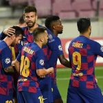 Barcelona Player Tests Positive of COVID-19 Ahead of UCL Q/Final
