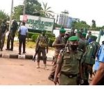 [BREAKING] Edo 2020: Heavily Armed Security Men Take Over Edo Assembly