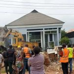 Govt Demolishes Twin Duplex of Man Who Pulled Down Enugu Airport's Fence
