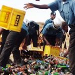 Jigawa Hisbah Destroys 588 Bottles Of Beer, Restates Alcohol Prohibition
