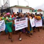 Women Protest Against Enugu NASS Members Over Poor Representation