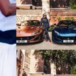 Twitter Erupts As Otedola Buys Three Ferraris For His Three Daughters
