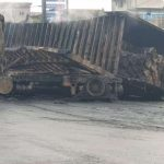 Explosion Rocks Lagos As Container Truck, Petrol Tanker Collide