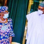 WTO Job: Okonjo-Iweala Visits Buhari In Aso Rock