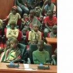 BREAKING: 344 Abducted Schoolboys Arrive Katsina Government House