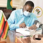 Mnangagwa Signs Recently Launched African Fact Book