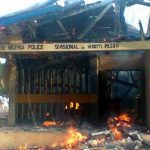 Breaking: Another Police Station, Vehicles On Fire In Imo