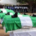 NAF Crash Victims Buried Amidst Tears
