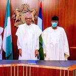 BREAKING: Buhari Receives Bankole, Daniel In Aso Rock