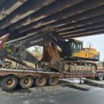Trailer Damages 3 Flyover Bridges On Lagos -Ibadan Expressway