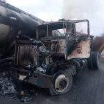One injured, vehicles burnt in another Otedola Bridge accident