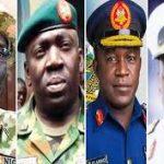 Breaking: Service Chiefs Storms Ibadan