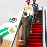 BREAKING: Buhari Returns After UK Medical Check-Up