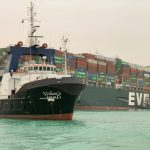 Egypt Probes Container Cargo's Grounding In Suez Canal
