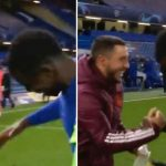 Hazard Apologises To Madrid Fans For Joking With Chelsea Players After Defeat