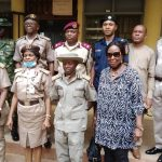 Newly Promoted Immigration Officers in Enugu Decorated with New Ranks