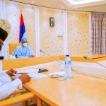 BREAKING: Security Meeting Reconvenes At Presidential Villa