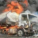 7 Suspected Smugglers Burn To Death In Petrol Tanker Fire In Adamawa