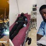 Yomi Casual Survives Auto Crash